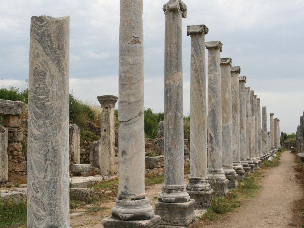 Roman Arches and Columns